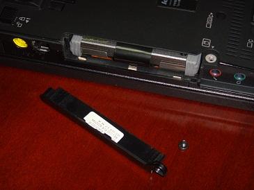 Instalación de un disco SSD en un portátil (3/6)
