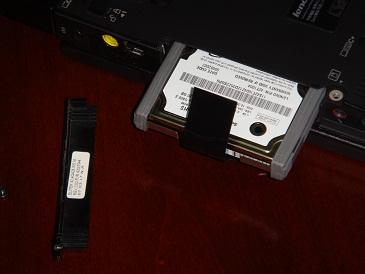Extrayendo el disco duro original