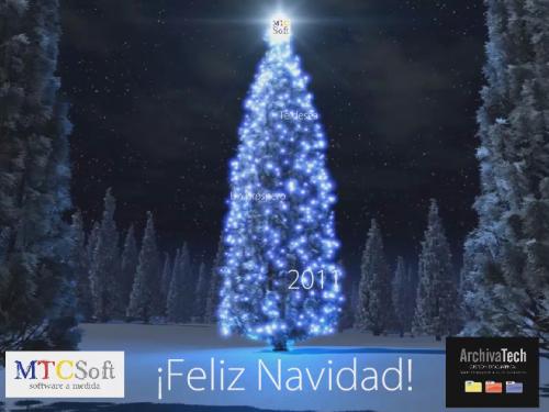 MTC Soft te desea Feliz Navidad
