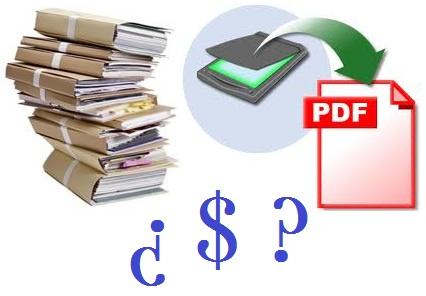 ¿Cuánto cuesta digitalizar mi archivo?