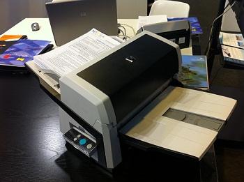 escáner de alta productividad